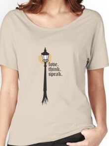 Love. Think. Speak Women's Relaxed Fit T-Shirt