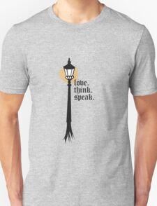 Love. Think. Speak T-Shirt