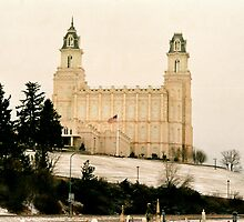 Manti temple by Braydon