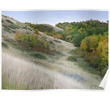 Autumn Valley Walk Poster