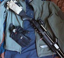 shotgun edc green jacket 2 by Albert Tran