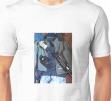 shotgun edc green jacket 2 Unisex T-Shirt