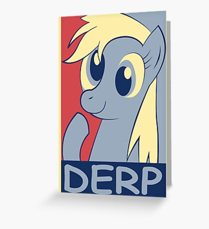 DERP Greeting Card