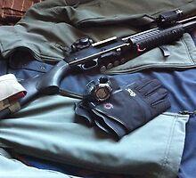 shotgun edc green jacket by Albert Tran