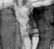 crucifix study by Loui  Jover