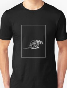 Rat Black Grey A T-Shirt