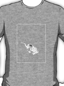 Rat Grey White C T-Shirt