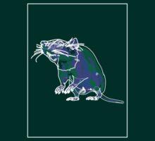 Rat Mauve Green E by Noel Richards