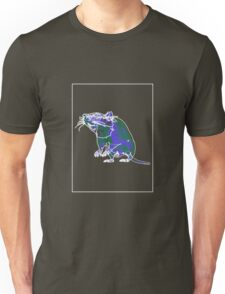 Rat Mauve Green E Unisex T-Shirt