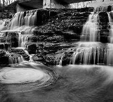 Paper Mill Falls Swirl by Jeff Palm Photography