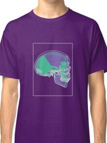 Skull Green Mauve C Classic T-Shirt