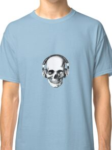 SKULL HEADPHONES Classic T-Shirt