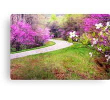 Blue Ridge Kind of Spring Canvas Print