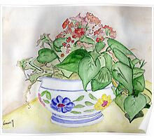 Potted Plant from Joe and Linda Poster