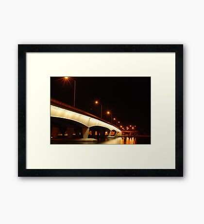 light spiders Framed Print
