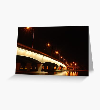 light spiders Greeting Card
