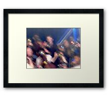 Photog frenzy Framed Print