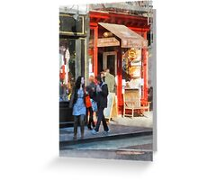 Greenwich Village Bakery Greeting Card