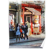 Greenwich Village Bakery Poster