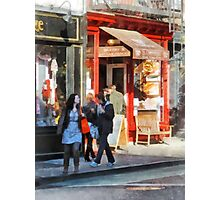 Greenwich Village Bakery Photographic Print
