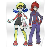 Pokemon Trainers Poster