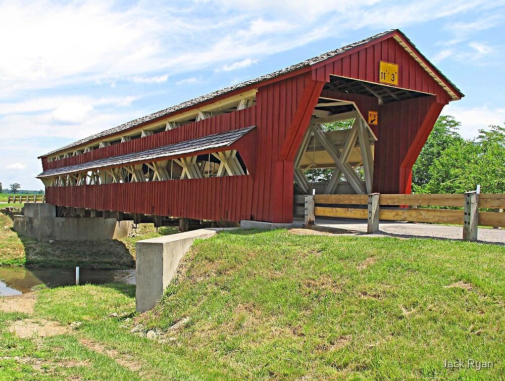 Bigelow Covered Bridge by Jack Ryan