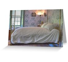 The Main Bedroom, Vaucluse House, Sydney, NSW Greeting Card