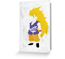 Goku SSJ3 Greeting Card