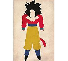 Goku SSJ4  Photographic Print