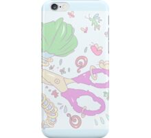 Scissors and Halos iPhone Case/Skin