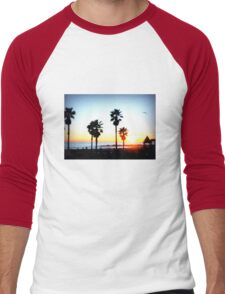 Palms Venice Beach Men's Baseball ¾ T-Shirt