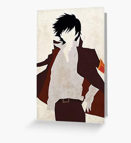 Hibari Kyoya Greeting Card