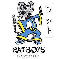 "Ratboys ""Asia Rat"" T-Shirt Photographic Print"