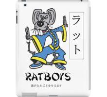 "Ratboys ""Asia Rat"" T-Shirt iPad Case/Skin"