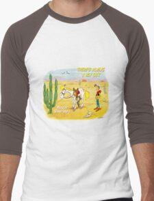 luckyyluke Men's Baseball ¾ T-Shirt