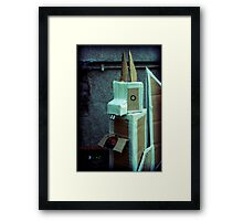 sky squirrel  Framed Print