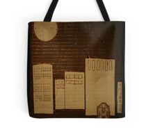 egg in the city Tote Bag