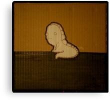 dinosaur toad Canvas Print