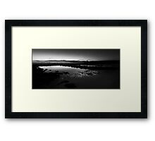 Boundaries of Light Framed Print