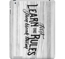 Rules Not For us! iPad Case/Skin