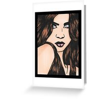 Sophie - Coloured Greeting Card