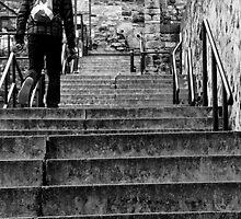 Granny Greens Steps.Edinburgh by tunna