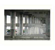 Halifax River Bridge Art Print