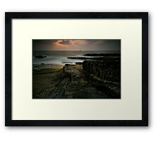 Stepping Stones of the Gods Framed Print