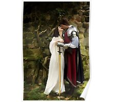 I take thee my knight Poster
