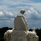 Shepherd Jesus Statue by FathersWorld