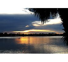 Halifax Florida Sunset Photographic Print