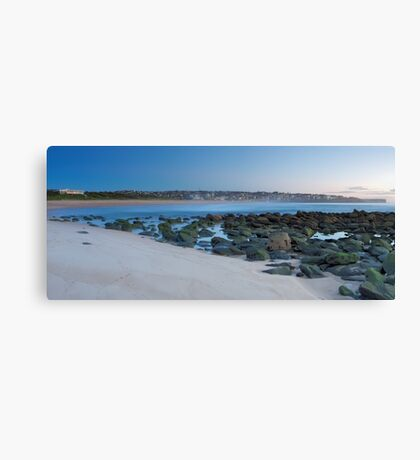 A Morning at Maroubra Canvas Print
