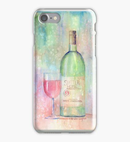White Zinfandel iPhone Case/Skin