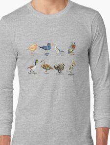 Art Fowl Long Sleeve T-Shirt